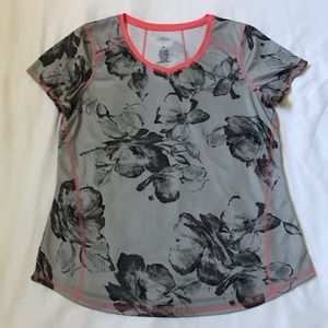 At. John's Bay Active Quick Dry Floral Shirt